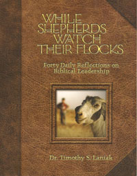 While Shepherds Watch Their Flocks - book cover